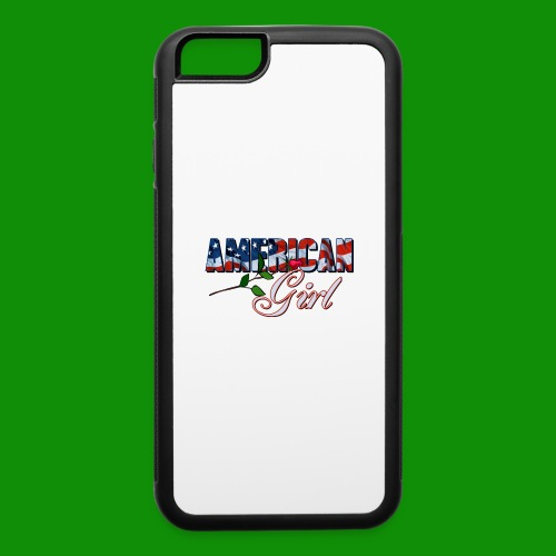 AMERICAN GIRL - iPhone 6/6s Rubber Case