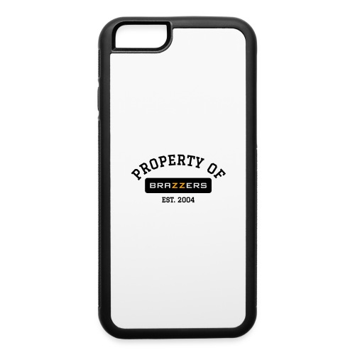 Property of Brazzers logo solid - iPhone 6/6s Rubber Case