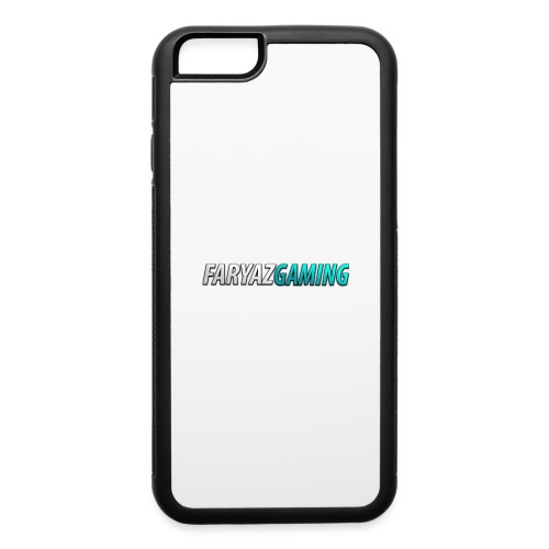 FaryazGaming Theme Text - iPhone 6/6s Rubber Case