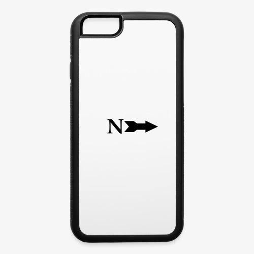 Narrow Logo Black - iPhone 6/6s Rubber Case