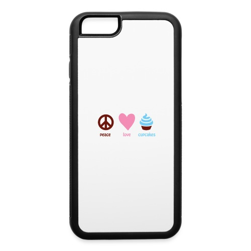 peacelovecupcakes pixel - iPhone 6/6s Rubber Case