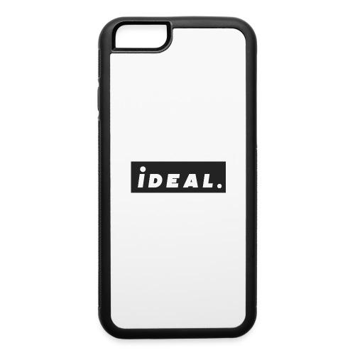 black ideal classic logo - iPhone 6/6s Rubber Case