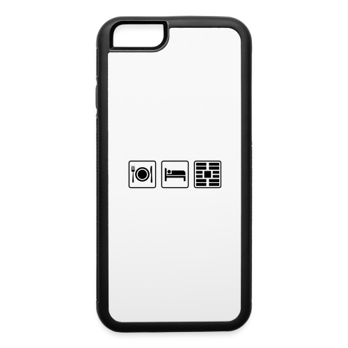 Eat Sleep Urb big fork - iPhone 6/6s Rubber Case