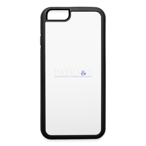 PATRIOT-SAM-USA-LOGO-REVERSE - iPhone 6/6s Rubber Case