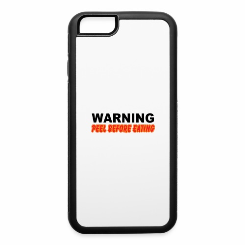 Peel Before Eating - iPhone 6/6s Rubber Case