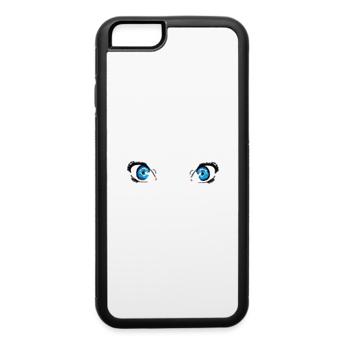 Glacier Blue Eyes - iPhone 6/6s Rubber Case