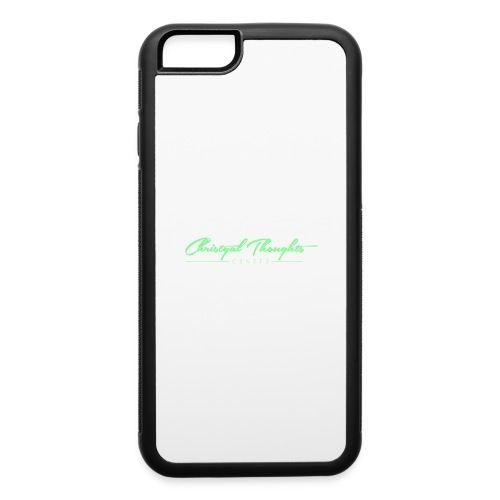 Christyal Thoughts C3N3T31 Lime png - iPhone 6/6s Rubber Case