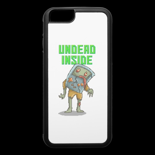 Zombie Video Game | Funny Zombie Pizelart - iPhone 6/6s Rubber Case