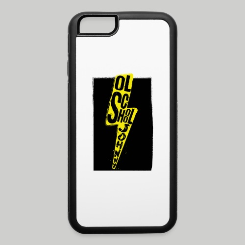 Ol' School Johnny Colour Lightning - iPhone 6/6s Rubber Case
