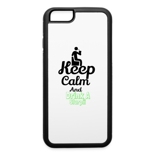Slurpii logo 2 - iPhone 6/6s Rubber Case