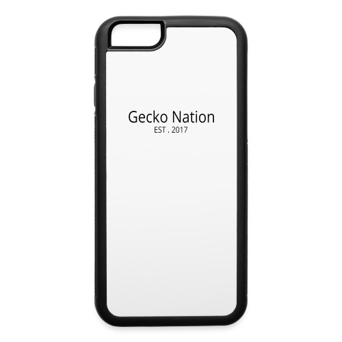 Gecko Nation Logo 1 - iPhone 6/6s Rubber Case