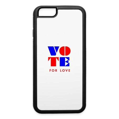 vote4love-sample - iPhone 6/6s Rubber Case