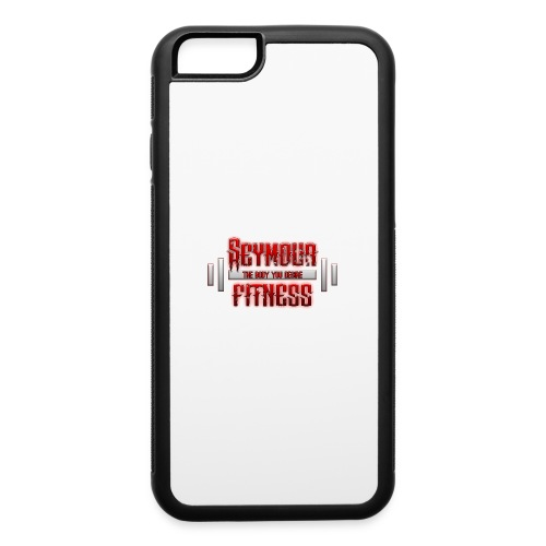 seymour_fitness_logo - iPhone 6/6s Rubber Case