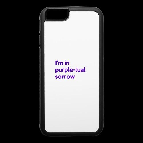 Purple-tual sorrow - iPhone 6/6s Rubber Case