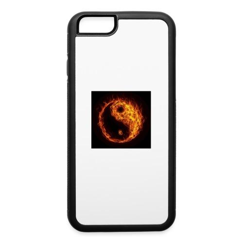 Panda fire circle - iPhone 6/6s Rubber Case