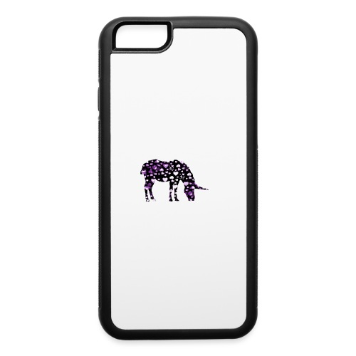 Unicorn Hearts purple - iPhone 6/6s Rubber Case