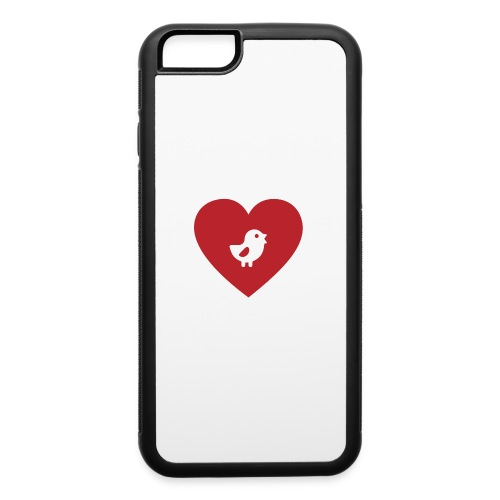 Heart Chick - iPhone 6/6s Rubber Case