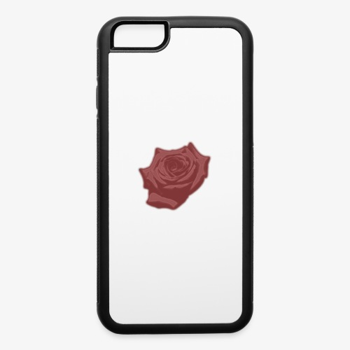 Down Rose Modern - iPhone 6/6s Rubber Case