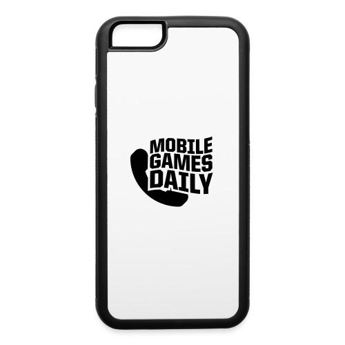 MGDLogo black - iPhone 6/6s Rubber Case