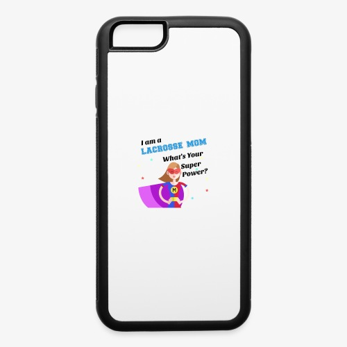 lax mom hero - iPhone 6/6s Rubber Case
