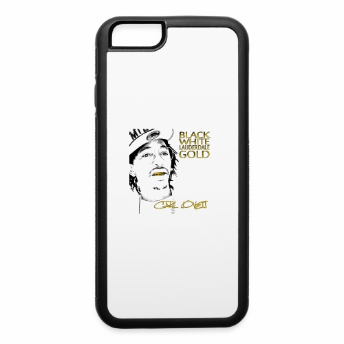 Carl Lovett Lauderdale Gold - iPhone 6/6s Rubber Case