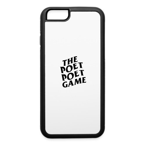 The Poet Game *ASSC* Edition Merch - iPhone 6/6s Rubber Case