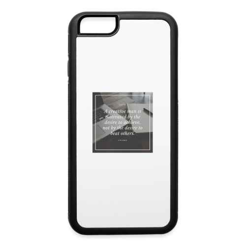 Ayn Rand Quote - iPhone 6/6s Rubber Case
