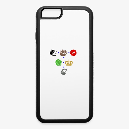 walrus and the carpenter - iPhone 6/6s Rubber Case
