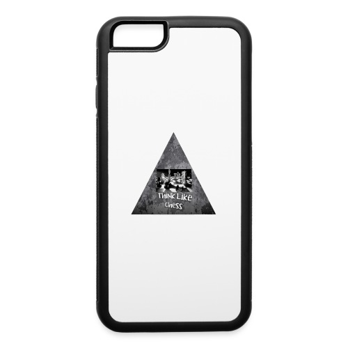 Think Like Chess Logo - iPhone 6/6s Rubber Case