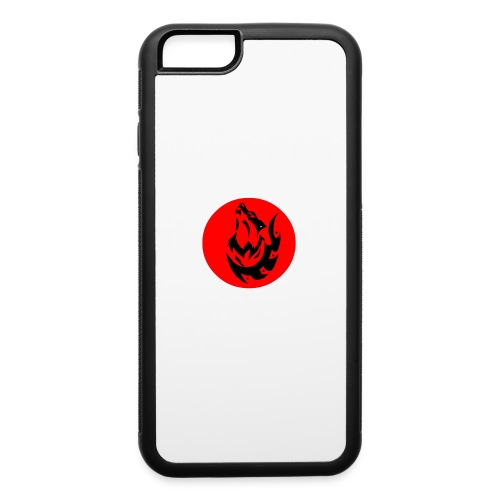 Wolf Logo - iPhone 6/6s Rubber Case