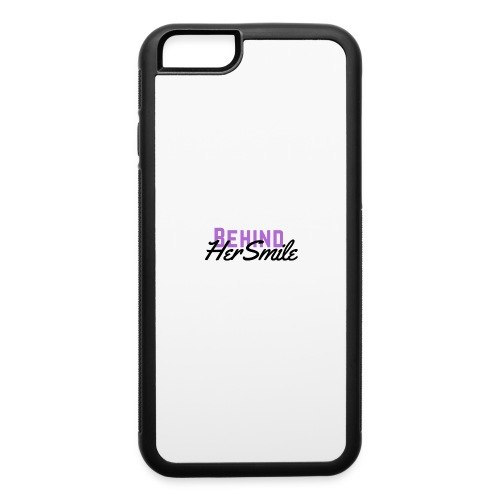 Behind Her Smile - iPhone 6/6s Rubber Case