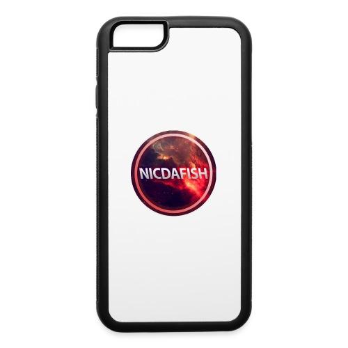NicDaFish Logo - iPhone 6/6s Rubber Case