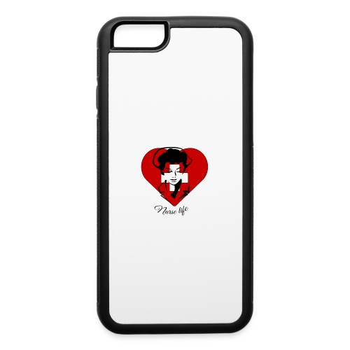 nurselife - iPhone 6/6s Rubber Case