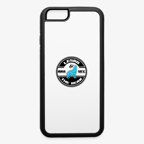 Lesbo and The Bean Logo - iPhone 6/6s Rubber Case