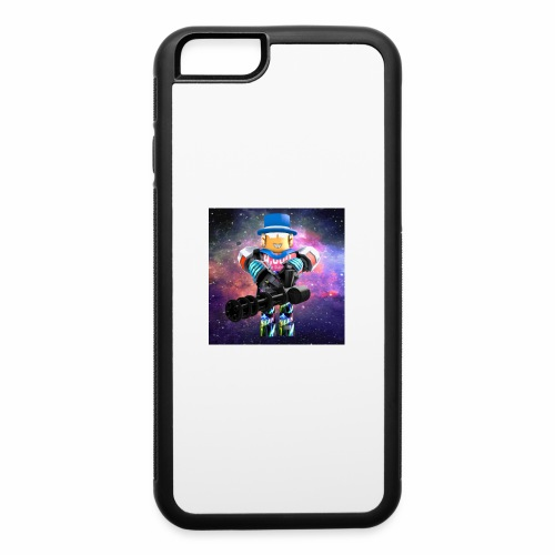 sean roblox character with minigun - iPhone 6/6s Rubber Case
