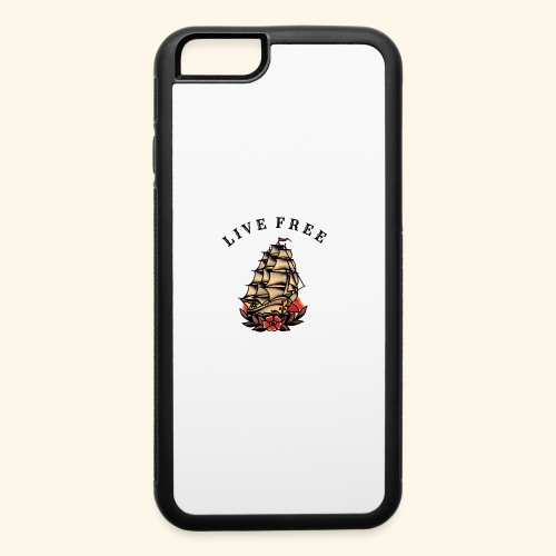LIVE FREE - iPhone 6/6s Rubber Case