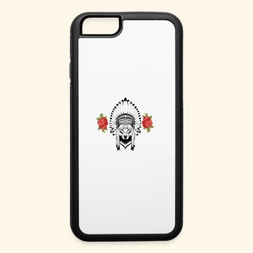 WOLF KING - iPhone 6/6s Rubber Case
