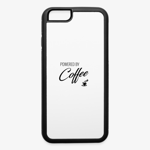Powered by Coffee - iPhone 6/6s Rubber Case