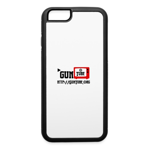 GunTube Shirt with URL - iPhone 6/6s Rubber Case