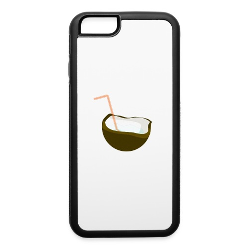 coconut water - iPhone 6/6s Rubber Case