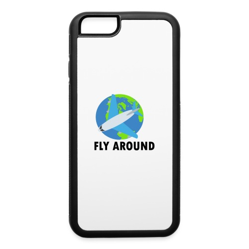Fly Around Logo - iPhone 6/6s Rubber Case