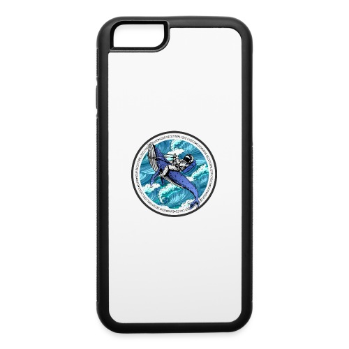 Astronaut Whale - iPhone 6/6s Rubber Case