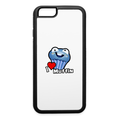 I Love Muffin - iPhone 6/6s Rubber Case