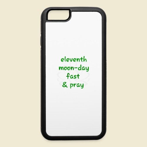 108-lSa Inspi-Shirt-98 eleventh moon day - iPhone 6/6s Rubber Case