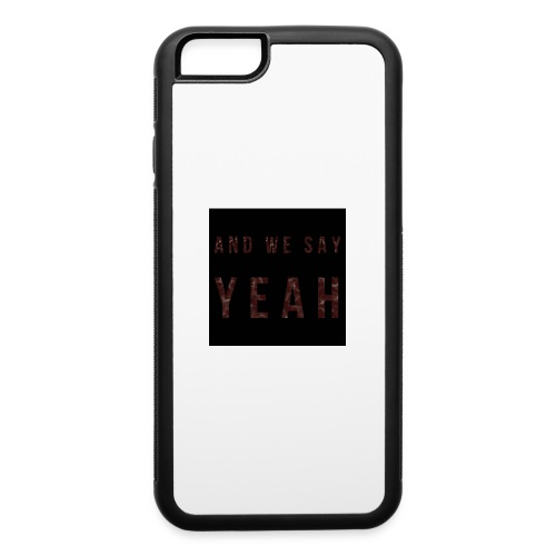 """Yeah"" Lyric - iPhone 6/6s Rubber Case"