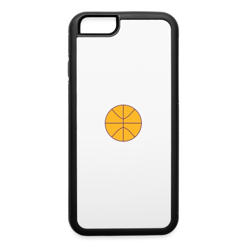 Basketball purple and gold - iPhone 6/6s Rubber Case