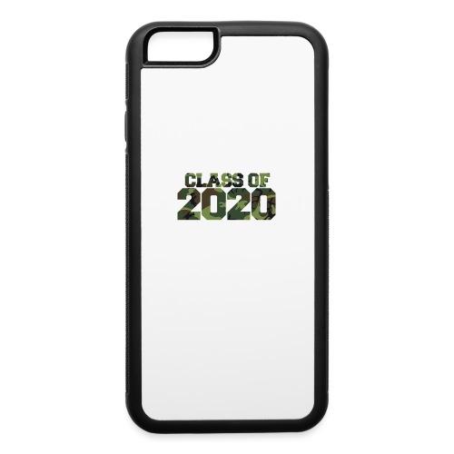 Class of 2020 Camo grad logo - iPhone 6/6s Rubber Case