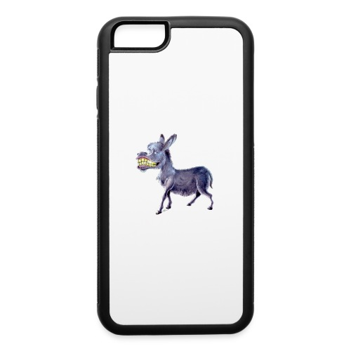 Funny Keep Smiling Donkey - iPhone 6/6s Rubber Case