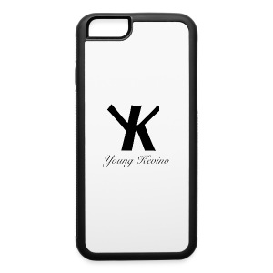 Young Kevino Official Logo (Black) - iPhone 6/6s Rubber Case