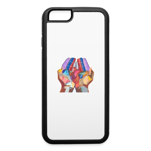 Heart in hand - iPhone 6/6s Rubber Case